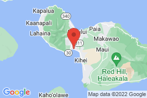 Map of Maalaea Bay